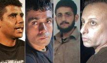 الأسرى الأربعة المعاد اعتقالهم ومحاكمهتم.jpg