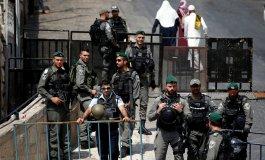 الشرطة الاسرائيلية في باحات الاقصى